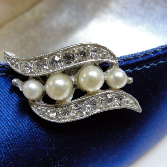 Vintage Jewelry - Vintage Shoe Clips or Dress Clips